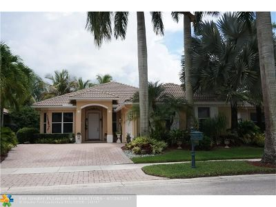 Weston Single Family Home For Sale: 1952 Harbor View Cir