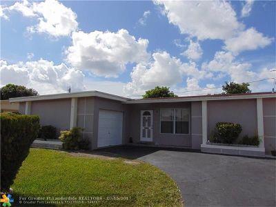 Sunrise Single Family Home Backup Contract-Call LA: 7721 NW 21st Ct