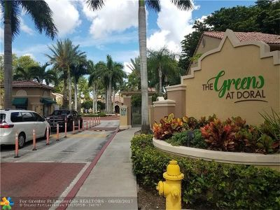 Doral Condo/Townhouse For Sale: 4988 E NW 97 Pl #302