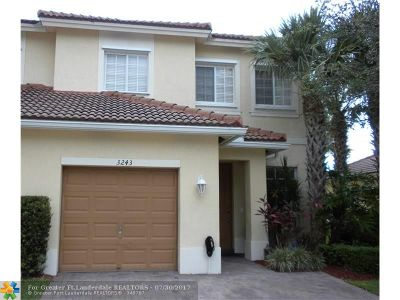 Condo/Townhouse Backup Contract-Call LA: 3243 NW 31st Ter #3243