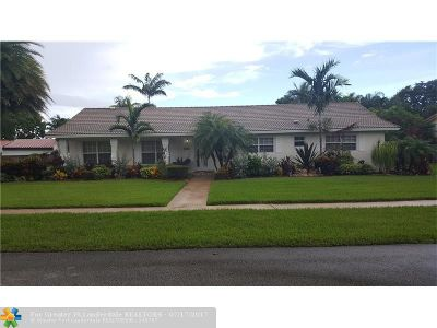 Plantation Single Family Home For Sale: 7300 SW 6th Ct