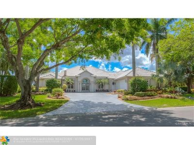Coral Springs Single Family Home For Sale: 1702 NW 124th Way