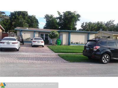 Sunrise Single Family Home Backup Contract-Call LA: 6440 NW 25th St