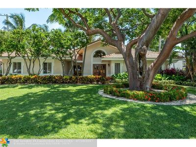Lauderdale By The Sea Single Family Home For Sale: 1920 E Terra Mar Dr