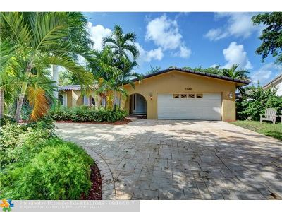 Plantation Single Family Home For Sale: 7060 SW 18th St
