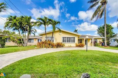 Pompano Beach Single Family Home For Sale: 1795 SE 5th Ct