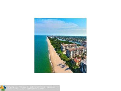 Hillsboro Beach Condo/Townhouse For Sale: 1147 Hillsboro Mile #409