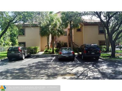 Plantation Condo/Townhouse For Sale: 10791 NW 14th St #309