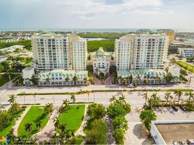 Boynton Beach Condo/Townhouse For Sale: 400 N Federal Hwy #S202