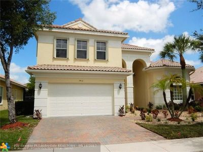 Broward County Single Family Home For Sale: 7416 NW 115th Ter