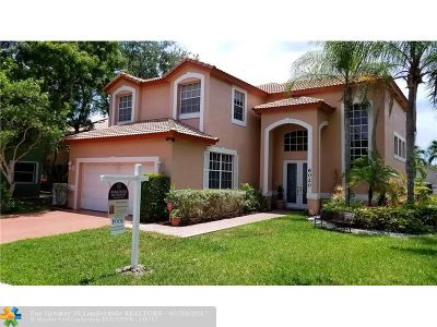 Parkland Single Family Home For Sale: 6020 NW 58th Way