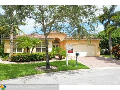 Miramar Single Family Home For Sale: 18558 SW 46th St