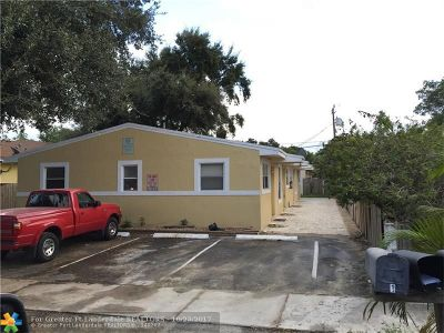 Dania Multi Family Home For Sale: 723 SW 6th St