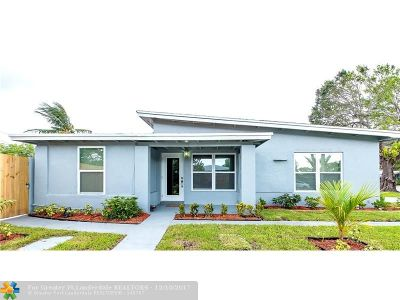 Fort Lauderdale Single Family Home For Sale: 1401 NW 5th Ave