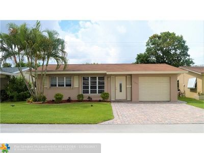 Tamarac Single Family Home For Sale: 7304 NW 57th Ct
