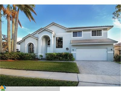 Pembroke Pines Single Family Home For Sale: 17534 SW 12th St