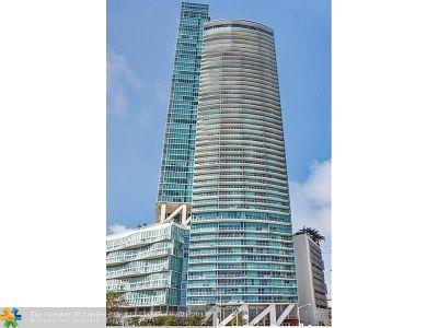 Miami Condo/Townhouse For Sale: 888 Biscayne Blvd #2502