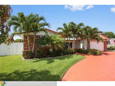 Pompano Beach Single Family Home Backup Contract-Call LA: 640 SE 10th St