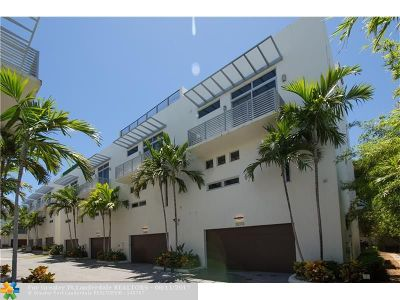 Pompano Beach Condo/Townhouse For Sale: 3270 NE 15th Street #3270