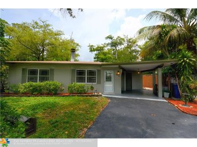 Oakland Park Single Family Home For Sale: 4281 NW 19th Ave