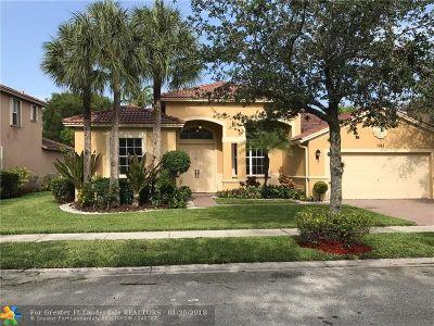 Weston Single Family Home For Sale: 3847 W Gardenia Ave