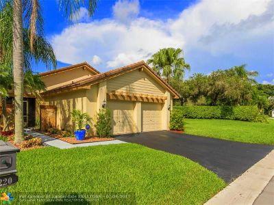 Weston Single Family Home Backup Contract-Call LA: 2220 Columbia