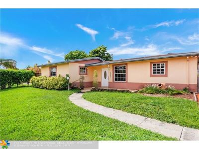 Hialeah Single Family Home Backup Contract-Call LA: 8000 NW 175th St