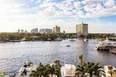 Fort Lauderdale Rental For Rent: 1 Las Olas Circle #607