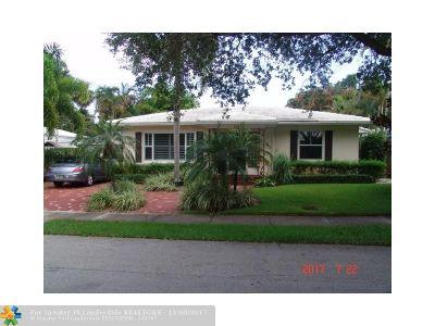 Fort Lauderdale Single Family Home For Sale: 634 NE 16th Ter