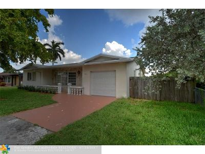 Oakland Park Single Family Home Backup Contract-Call LA: 1701 NW 39th St
