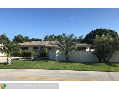 Fort Lauderdale Single Family Home For Sale: 2624 NE 26th Ct
