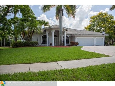 Parkland Single Family Home For Sale: 7185 NW 68th Dr