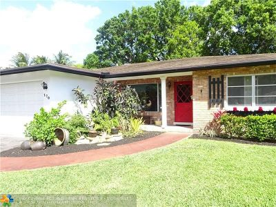 Oakland Park Single Family Home For Sale: 170 NW 33rd Street