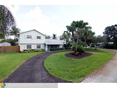 Delray Beach Single Family Home For Sale: 201 NW 17th St