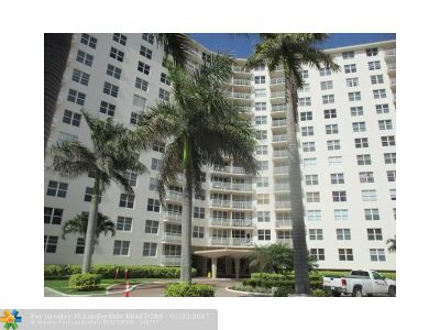 Broward County Condo/Townhouse For Sale: 301 N Ocean Blvd #1208