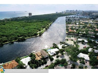 Coral Ridge, Coral Ridge 21-50 B, Coral Ridge Add, Coral Ridge Country Club Single Family Home For Sale: 1900 Intracoastal Dr