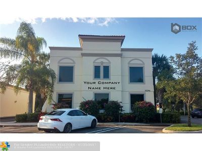Coral Springs Commercial For Sale: 10394 W Sample Rd