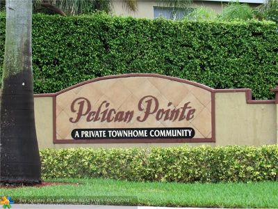 Pembroke Pines Condo/Townhouse For Sale: 714 SW 122nd Ave #714