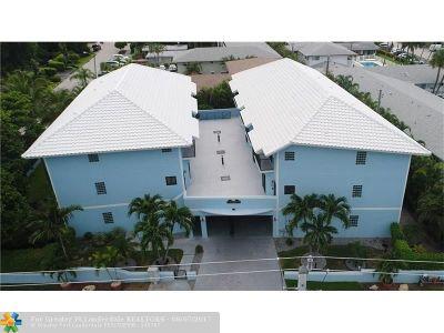 Pompano Beach Condo/Townhouse For Sale: 1260 N Riverside #1260