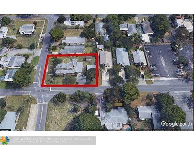 Pompano Beach Multi Family Home For Sale: 138 NE 13th Ave