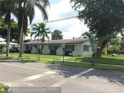 Dania Multi Family Home For Sale: 307 SE 2nd Ave