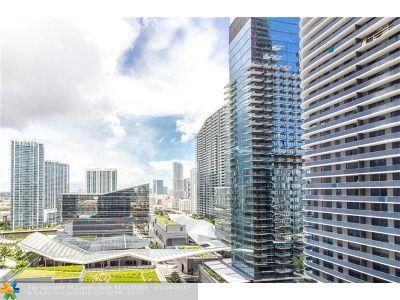 Miami Condo/Townhouse For Sale: 45 SW 9 #2010