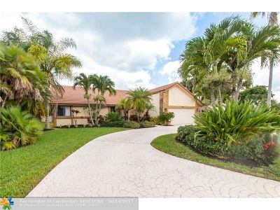 Tamarac Single Family Home Backup Contract-Call LA: 8404 NW 80th Ct