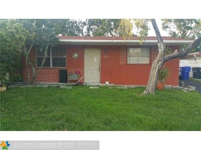 North Lauderdale Single Family Home Backup Contract-Call LA: 6861 SW 20th St