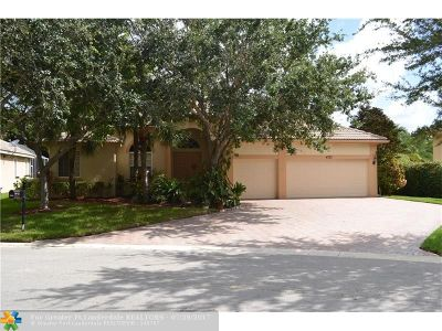 Coconut Creek Single Family Home Backup Contract-Call LA: 4727 NW 72nd Pl