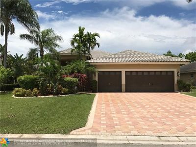 Coral Springs Single Family Home For Sale: 10921 NW 55th St