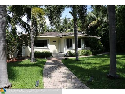 Pompano Beach Single Family Home For Sale: 2401 Bay Dr
