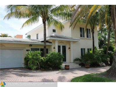 Pompano Beach Single Family Home For Sale: 3421 Dover Rd