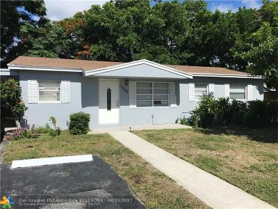 Deerfield Beach Single Family Home For Sale: 1051 SW 6th Ave