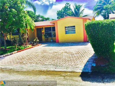 North Lauderdale Single Family Home For Sale: 821 SW 63rd Ter